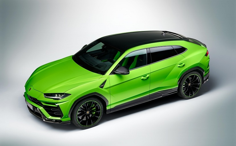 Yellow, orange and green base colour options are available on the SUV