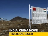 Video : Indian, Chinese Troops Mutually Pull Back From Most Ladakh Areas: Sources