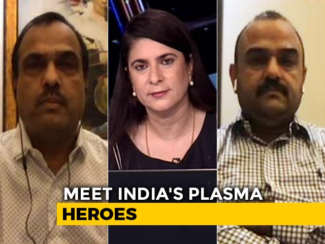 Video: 'Takes 30 Minutes To Donate Plasma, Feel Normal,' Recovered Patients Tell NDTV