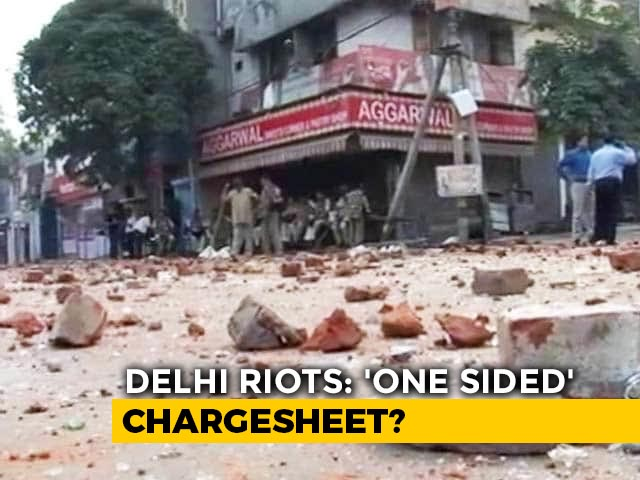 Video : Delhi Riots Chargesheet Skips Hate Speeches By BJP Leaders
