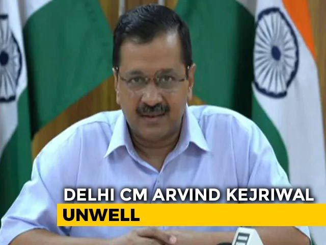Video : Top News Of The Day: Arvind Kejriwal Unwell, India Begins To Unlock