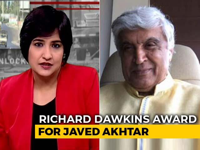 Video : Javed Akhtar Wins Richard Dawkins Award