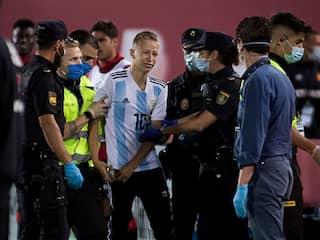 La Liga Takes Legal Action Against Pitch Invader