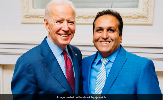 Indian-Origin Elected As Joe Biden's Delegate For August Convention