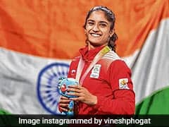 Wrestler Vinesh Phogat Says She Has Tested Negative For COVID-19