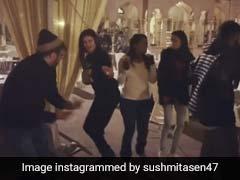 सुष्मिता सेन ने पैकअप के बाद टीम के साथ किया धांसू डांस, 'आंख मारे' पर नाचती दिखीं एक्ट्रेस- देखें Video