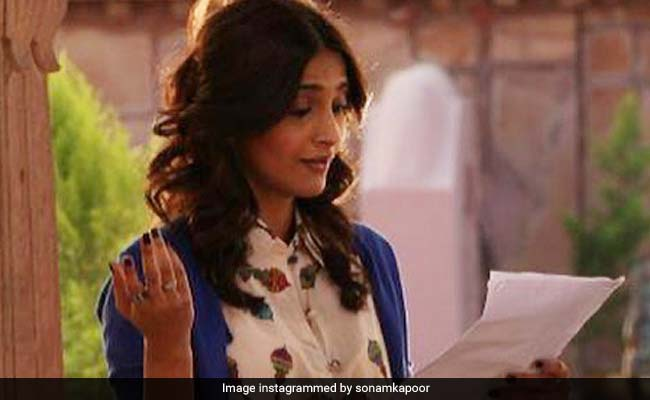 Sonam Kapoor 'Can't Wait' To Rehearse Lines And Be On Set Again
