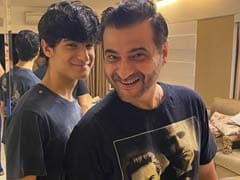 "Sanjay Kapoor And Son Jahaan Got ""Snazzy"" Haircuts At Home. Here's How They Look Now"