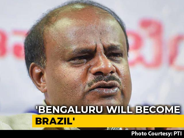 "Video : ""Bengaluru Will Become Brazil"": HD Kumaraswamy Calls For 20-Day Lockdown"