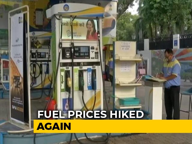 Video : Petrol, Diesel Prices Above Rs 80 Per Litre In Delhi As Fuel Rates Hiked In Metros