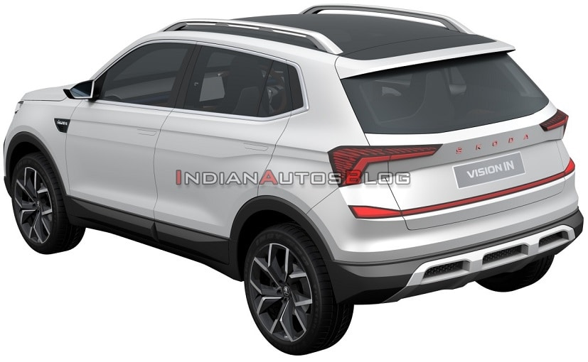 Skoda Vision IN Compact SUV Patent Images Leaked