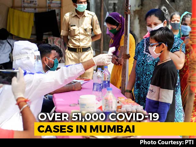 Video : Mumbai, With 51,100 Coronavirus Cases, Crosses Wuhan