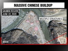 Chinese Structures, Soldiers Spotted In Galwan Valley In New Satellite Images