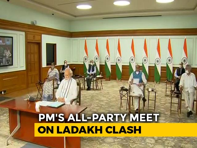 Video : PM's All-Party Meet On Ladakh Clash. AAP, Team Lalu Excluded