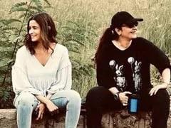 "Filming <i>Sadak 2</i> Was Like ""Homecoming"" For Alia Bhatt"