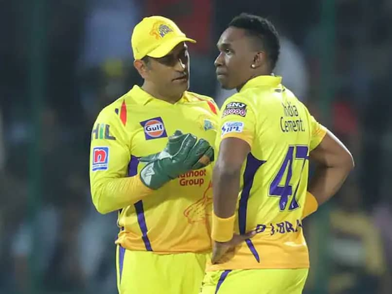 MS Dhoni Is The Biggest Superstar In Cricket, Says Dwayne Bravo