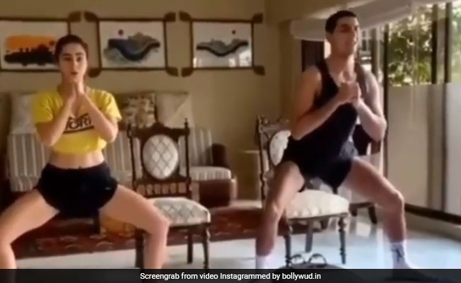 Sara Ali Khan's Workout Partner Is Usual Suspect Ibrahim
