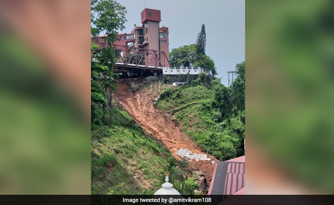 College Student Killed In Guwahati Landslide, People Asked To Shift To Safer Places