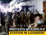 Video : Late-Night Protests Over Arrest Of UP Congress Leader In Lucknow