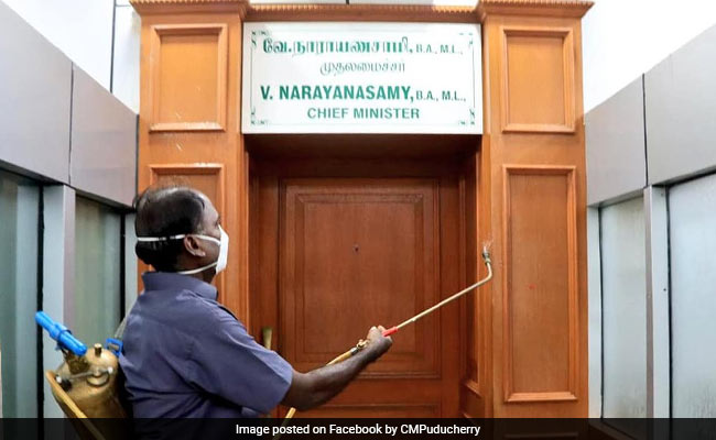 Puducherry Chief Minister's Office Shut For At Least 2 Days After Staff Tests COVID Positive