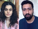 Video : Vicky Kaushal & Taapsee Pannu Discuss Anurag Kashyap's Film <i>Choked</i>