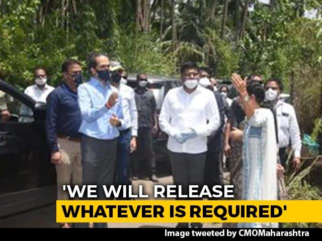 Video : Uddhav Thackeray Announces Rs. 100 Crore Aid For Cyclone-Hit Raigad