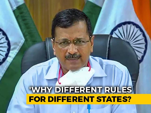 "Video : ""Why Separate Guidelines For Delhi?"" Arvind Kejriwal On 5-Day Isolation"
