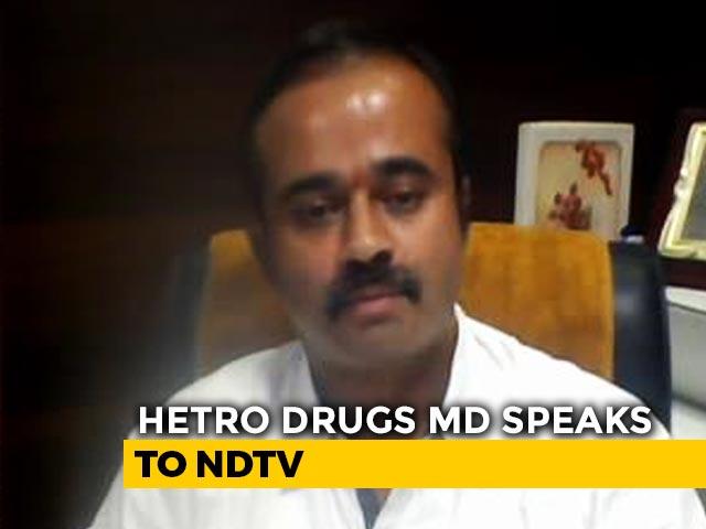 Video : Hetero Drugs Says Remdesivir Reason For Hope In Covid-19 Treatment