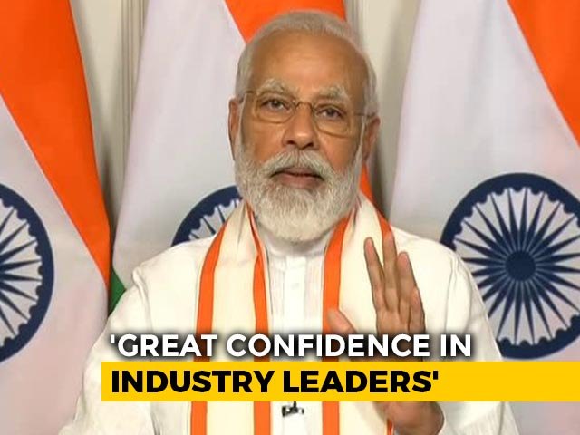 "Video : ""India Will Get Its Growth Back"": PM Modi Pushes For Self-Reliance"