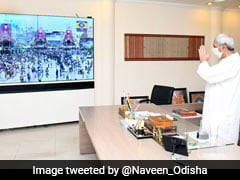 Odisha Chief Minister Watches Live Telecast Of Puri's <i>Rath Yatra</i>