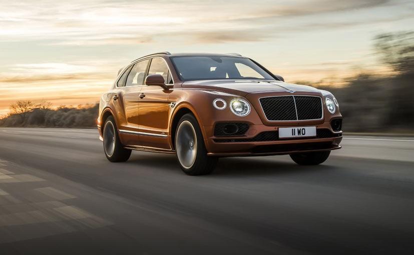 Bentley Has Sold 20,000 Bentayga SUVs In 4 Years