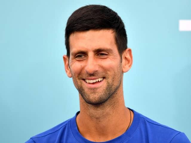 Novak Djokovic Puts Positive Spin On US Open Plan