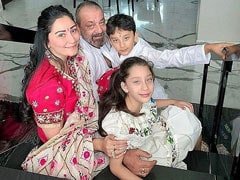 Sanjay Dutt, In Major Missing Mode, Shares Pic Of Wife Maanayata And Kids