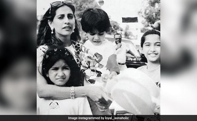 Sonam Kapoor Loves This Childhood Throwback, Also Starring Sister Rhea, Brother Harshvardhan And Mom Sunita