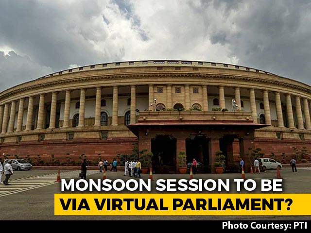 "Video : Ahead Of Monsoon Session, Speaker, Venkaiah Naidu Discuss ""E-Parliament"""