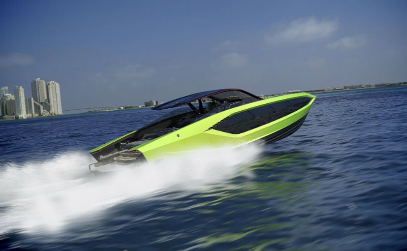 Deliveries for the Tecnomar for Lamborghini 63 superyacht will begin in early 2021