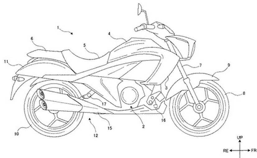 Suzuki Intruder 250 Patents Leaked