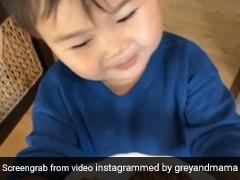 खाना मिलने के बाद बच्चा मम्मी को देता है ऐसा जवाब, बना इंटरनेट सेंसेशन, Video देख आप भी कहेंगे- How Cute