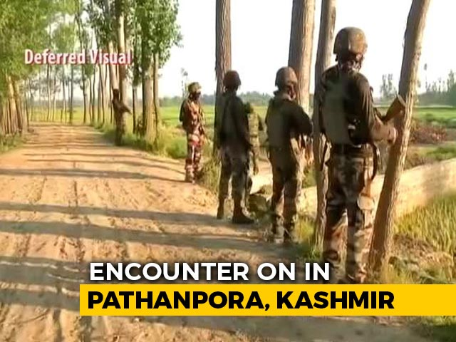 Video: Encounter Breaks Out In Jammu And Kashmir's Budgam, Operation Going On