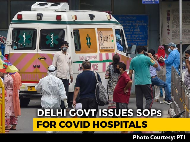 Video : Triage Within 1 Hour: Delhi Issues New Rules For COVID-19 Treatment