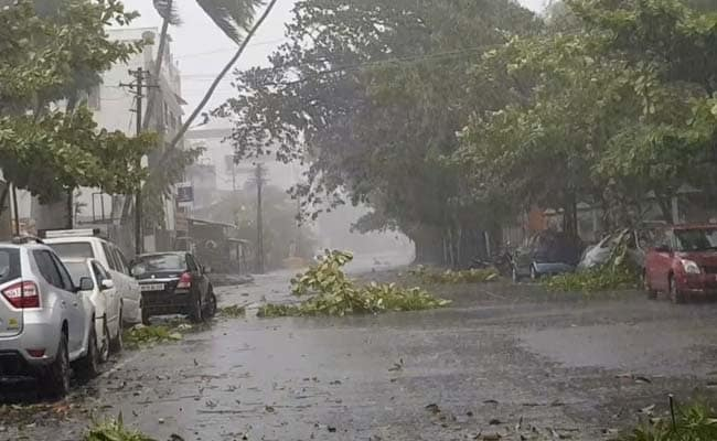 Man Dies As Electric Pole Falls On Him In Maharashtra's Alibaug During Cyclone Nisarga
