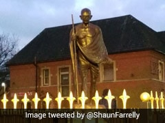 """Great Pride"": UK City Mayor Promises To Protect Mahatma Gandhi's Statue"