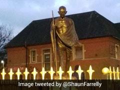 Standoff Over Mahatma Gandhi's Statue In UK City Of Leicester