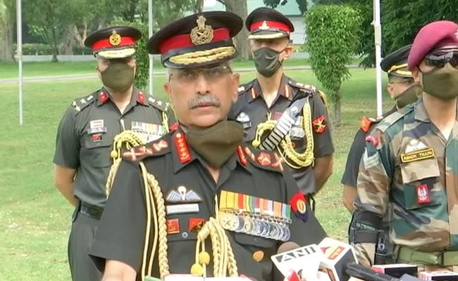 'Entire Situation Along Border With China Under Control': Army Chief