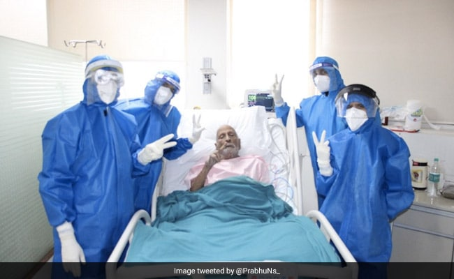 """97-Year-Old Man Recovers From COVID-19. """"Ray Of Hope"""" Says Official"""