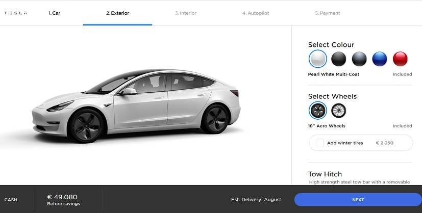 Customer Accidentally Orders 28 Tesla Model 3 Electric Sedans Worth 1.4 Million Euros