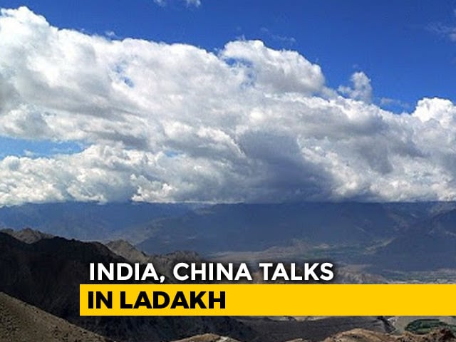 Video : India, China Lt General-Level Talks Today, Galwan Valley To Be Discussed