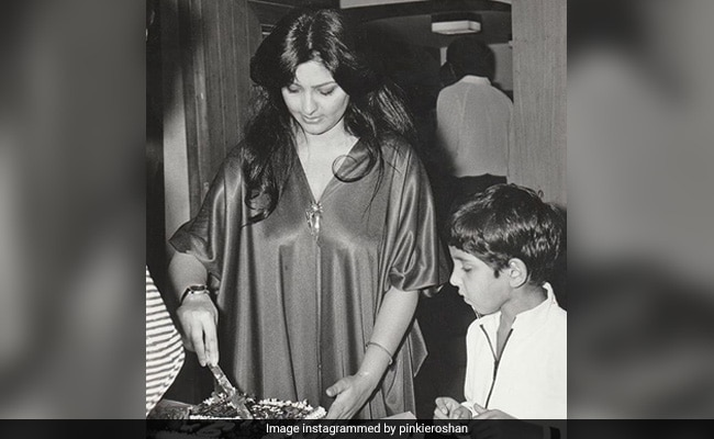 Hrithik's Mom Pinky Roshan Reveals The One Thing He 'Was Always Curious About' On His Birthdays