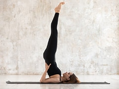 Yoga Day 2020: Keep Calm And Practise Sarvangasana, The Shoulder Stand