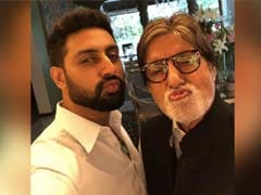 """Abhishek Bachchan's Go-To Dance Number Is This """"Family Song"""" (Twitter's Words)"""